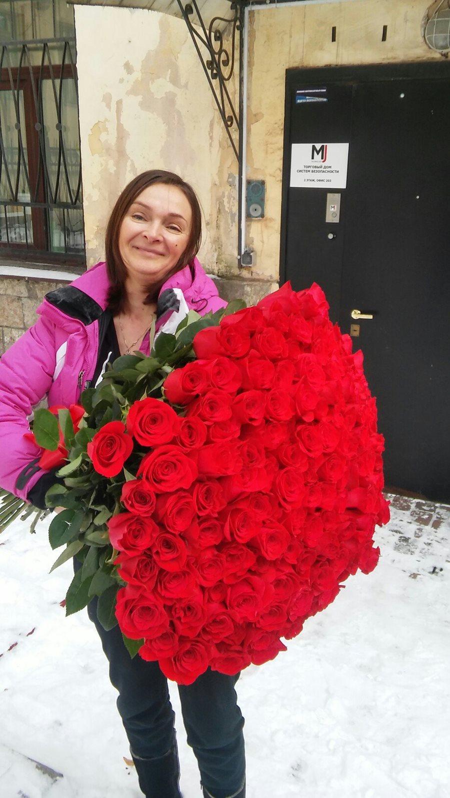 Розы купить 101 дешево